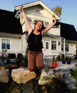 Vinnaren i tävlingen Vinn ett körkort på Trafikskolan i Norberg